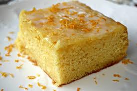 Meyer Lemon Cake with Lemon Buttermilk Glaze