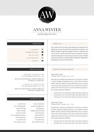 Boutique Owner Resume Resume Template 5pages Stiletto By The Resume Boutique On