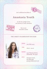 Corporate Invitation Template Delectable 48 Passport Invitation Templates Free Sample Example Format