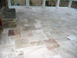 da vinci travertine tile traditional porch providence outdoor porch tiles