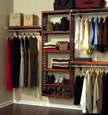red mahogany premier 12 deep closet in a box organizer