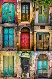 old door collection chios greece