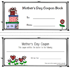Sally's Coupons: Free Printable Mother's Day Coupon Book Templates Mother's Day Coupon Book 2