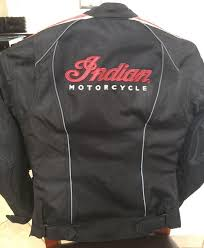 retro jacket black red leather by indian motorcycle motorcycles in orlando fl offerup