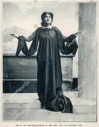 Photographic Portrait Eleonora Duse 185891924 Italian Actress  Redaktionelles Stockfoto – Stockbild