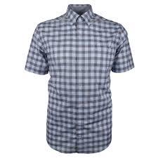 Nautica Check S S Shirt