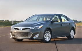 2013 Toyota Avalon Starts at $31,785, Avalon Hybrid $2360 Above ...