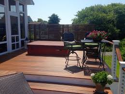 why hot tubs and composite decking are