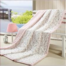 Light Pink And White Summer Quilt And Comforter-Twin And Full Size ... & Light Pink And White Summer Quilt And Comforter Adamdwight.com