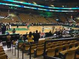 td garden section loge 3 row 9 seat 1