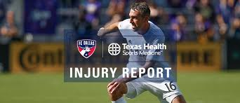 Sounders Depth Chart Injury Report Pres By Texas Health Sports Medicine Fc