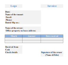 Microsoft Office Templates Invoices Free House Rental Invoice Rental Invoice Template Free