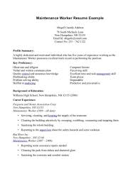 Resume Construction Foreman Resume Examples For Road Worker Samp