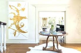 round entry rugs foyer table with large gold abstract art transitional on entryway rug ideas target round entry rug