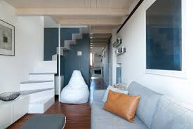 Small Apartment Design New Casa CPR Par R Piuerre Architecture Leather Pillow And Apartments