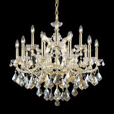 james moder 40257gl2gt maria theresa crystal gold re lighting chandelier loading zoom