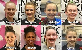 indianapolis feb 6 2017 eight athletes punched their tickets to the 2017 nastia liukin cup scheduled for march 3 at prudential center in newark n j