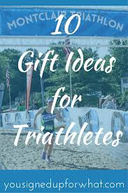 10 gift ideas for triathletes