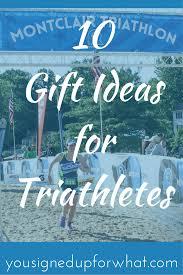 10 gift ideas for triathletes