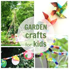 garden crafts for kids and families