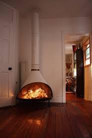 1960s fireplace