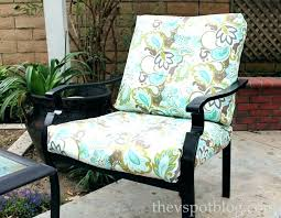 waterproof chair cushions seat for outdoor furniture bench c waterproof chair cushions