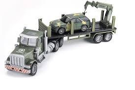 <b>Радиоуправляемый грузовик</b>-<b>трейлер</b> + джип <b>Zhoule Toys</b> ...