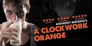 clockwork orange by anthony burgess play new world stages clockwork orange tickets banner