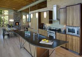modern lakehouse kitchens rhelledecorcom home tour anne hepferus modern lake house modern lake house with amazing interior design from finne