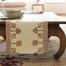elephant mombasa table runner design