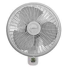 oscillating wall mount fan with 3 sds and remote control