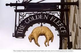 golden fleece pub sign