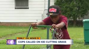 911 Was Called On A 12 Year Old Boy Cutting Grass As Part Of His Lawn  Mowing Business