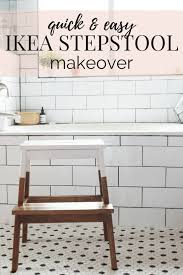 Easy IKEA hack! How to turn this BEKVAM stool into a gorgeous, farmhouse  inspired