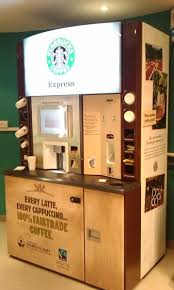 Starbucks Vending Machine Business Enchanting Coffee Vending Machine So We Wouldn't Have To Add Staff To Run A
