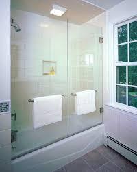 swinging frameless tub shower doors good looking tub enclosures in bathroom contemporary with bathtub enclosures next