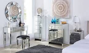 mirrored furniture. Mirror And Gold Dresser Mirrored Long Grey White Narrow Chest - Furniture
