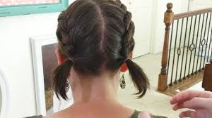 How To Do 2 French Braids On Short Hair A Line Bob Easy Hairstyles