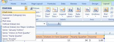 Select A Chart Element Chart Chart Microsoft Office