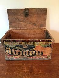 vintage wooden beer crates uk wood crate antique