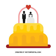 Wedding Cake Vector Clip Art Free Vector Image In Ai And Eps Format