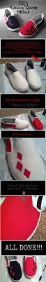 diy harley quinn shoes