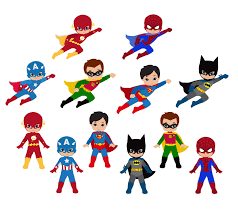 Super Heroes Free Downloads Clipart