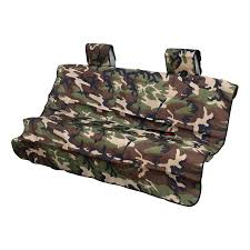 rear defender large camouflage seat cover