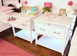nightstand with pull out tray. Nightstand With Pull Out Shelf And Tray
