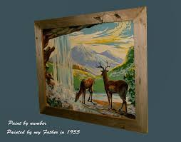 rustic picture frames made from cypress barn board