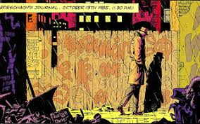 watchmen and the lord of the rings are strikingly similar  rorschach from watchmen