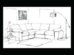 drawing of living room draw living room how to draw a living room drawing  on living