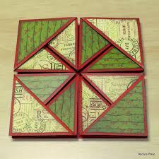 fold card beccy s place tutorial serviette napkin fold cards