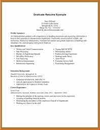 Resume For Part Time Job High School Student Elegant Sample Graduate